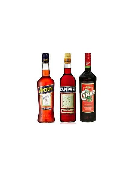 Aperol + Campari + Cynar