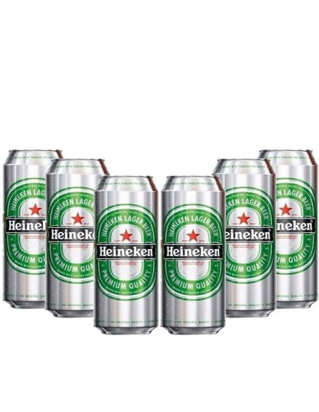 Heineken Lata 473cc x6