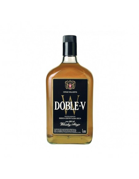 Whisky Doble V Et.Negra x 1 lts